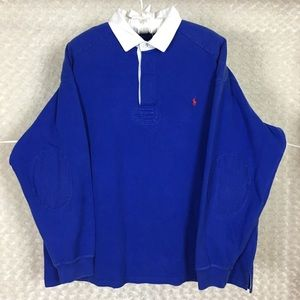 Vintage Rugby Polo Ralph Lauren Polo Shirt Sz 3XLT